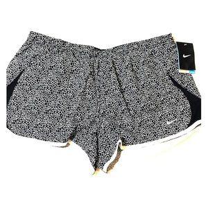 NWT Nike running shorts - black and white